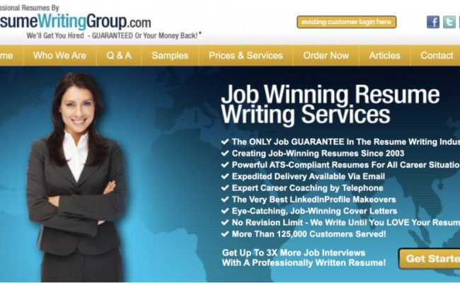 resumewritinggroup review